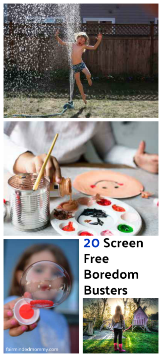 20 Screen Free Boredom Busters