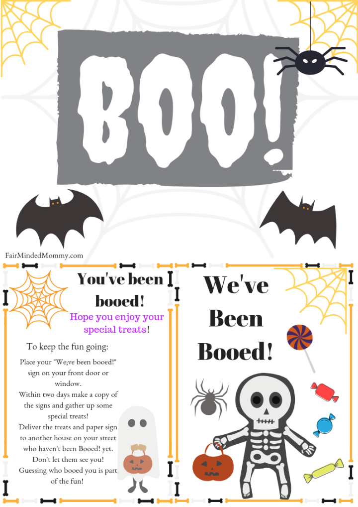 Free You've Been Booed Printables
